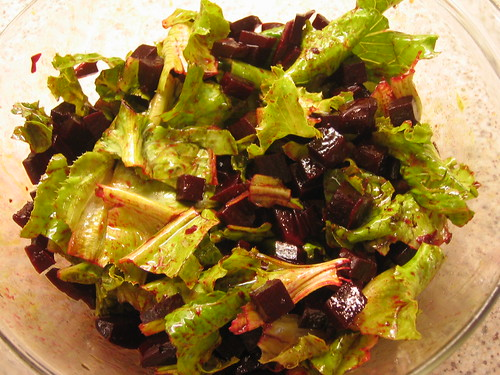 beet roots salad