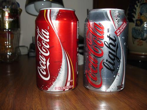 new coca-cola and coca-cola light cans (pics) - bevnet bevboard