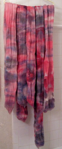 Dyed Roving 1