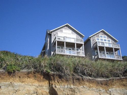 two beach houses