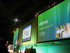 Myself Presenting at TechEd 2006