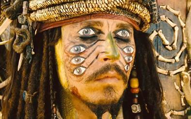 piratas del caribe johnny depp fotograma film el cofre del hombre muerto 3