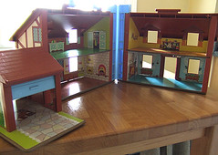Fisher Price house, inside