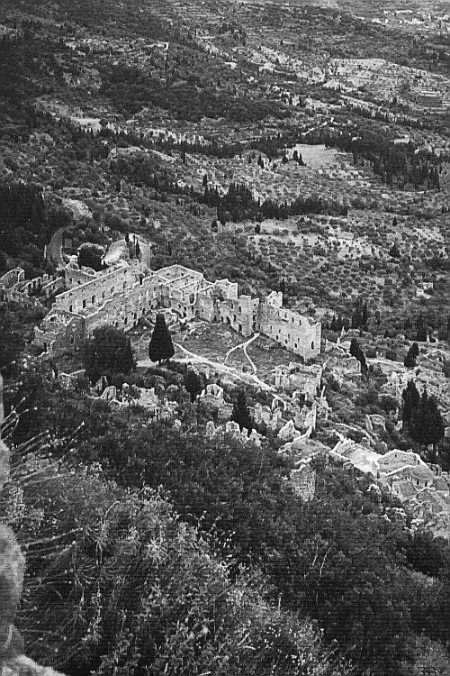 Castle of Mystra, Palace of the Despots