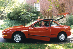 Granddad and his Integra, 1996