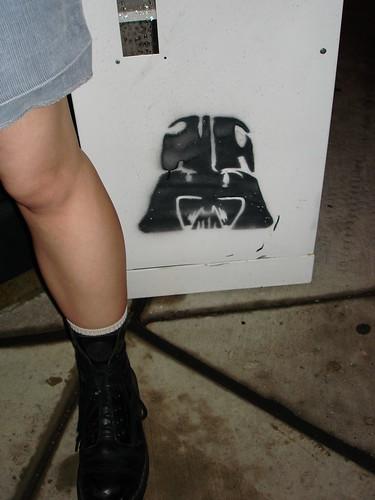 Leg and Vader