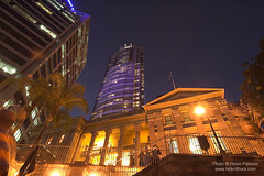 Customs House and inner city buildings