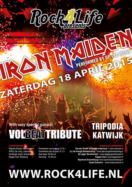 Up the Irons & Volbeat tribute