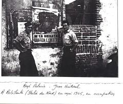 Front des Alpes 1945 - Italie- Robilante - col. Jean Huitorel-