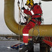 Outboard Rope Access, Inspecting Pipes