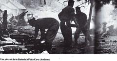 Authion- Avril 1945 - 1er RA - Pièce 6e batterie Peira Caca atuhion