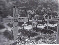1945- cimetière de l'Escarene- source : Henri Klingbeil