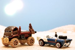 Car Wars: Chewie and Han photo by JD Hancock