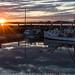 Welshpool Fishing Boats Sunburst