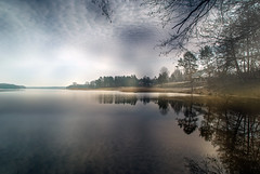 Lake in the spring. photo by augustynbatko