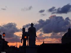 Capitole ,coucher de soleil
