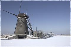 Winter in Kinderdijk, Holland photo by Stan de Haas Photography