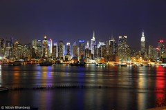 New York City Skyline [Explored 2 April 2015] photo by Nitish_Bhardwaj