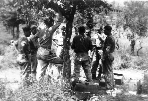 Authion - Avril/mai 1945- RA - Groupe chavanac frontière franco italienne