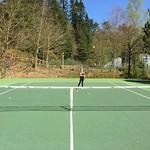 Tennis in the sunshine<br/>14 Apr 2015