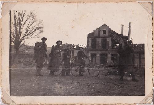 Automne 1944- BM 21 à Champagney - Col. P. Ruiz