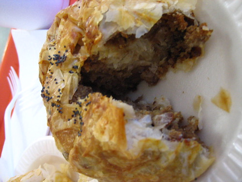 Beef knish