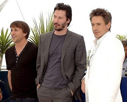 Richard Linklater, Keanu Reeves y Robert Downey Jr.
