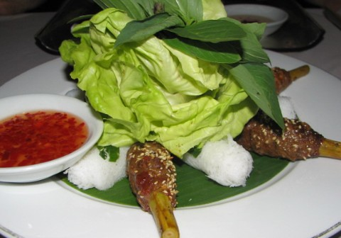 Nam Phan- Beef -Lemongrass