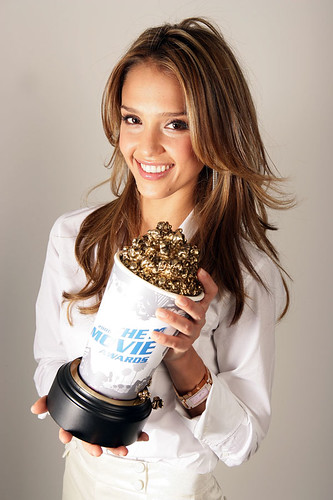 Jessica Alba is hosting the MTV movie awards this year.