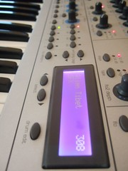 My synthesizer at home