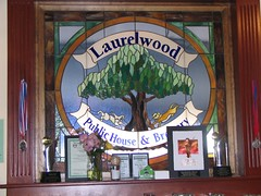 Laurelwood stained glass