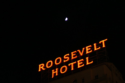 roosevelt hotel and moon