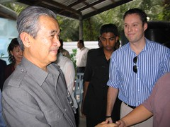 Shaking Hands With thePM