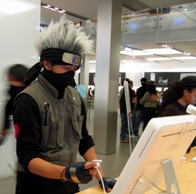 kakashi at mac store