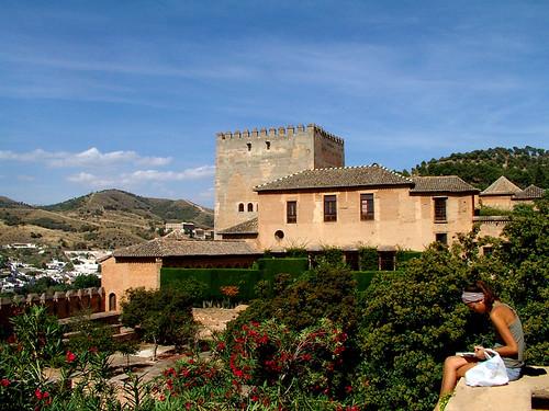 Apuntes en la Alhambra