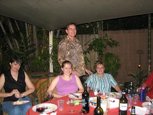 Kaye, myself, Lindsey, Pauline