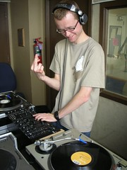 DJ M keeping it positive