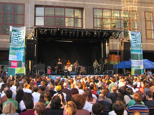The Eels at the World Financial Center Plaza