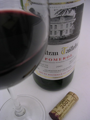 Chateau Taillefer 2001(Pomerol)