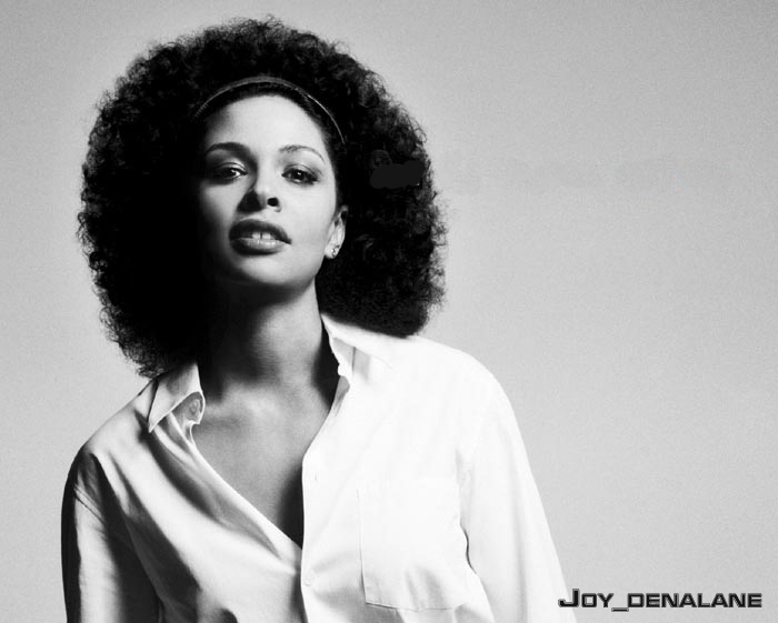Joy Denalane -- Throwback Pam Grier Moment