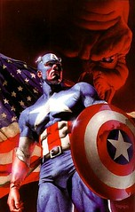 Captain Amerika Poster