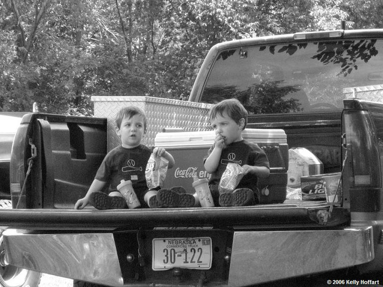 IMG_3943 - Twin Boys in a Pickup Bed