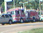 phone picture of fire truck