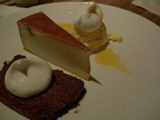 204 SpiceCafe マンゴームース&カスタードプリン&チョコレートケーキ