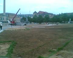 Schlossplatz nach der WM