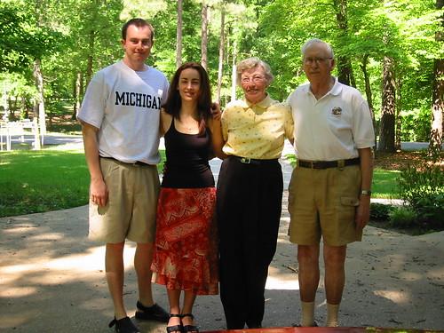 Erik, Marga, Joyce, and Glen
