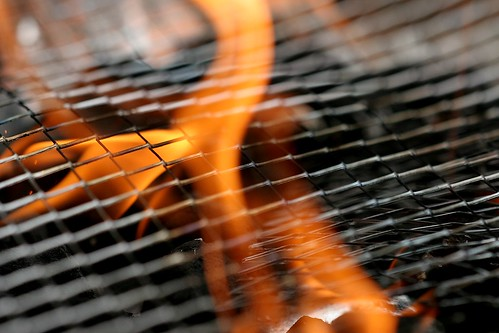 Barbeque Flame