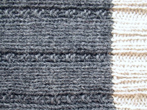 country sock ribbing