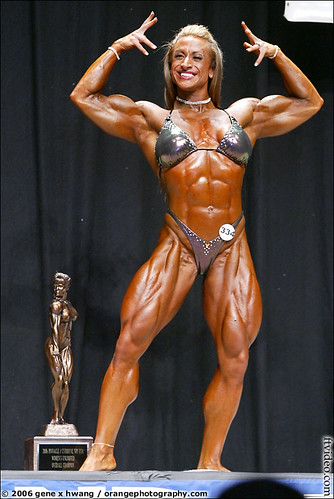 Heather Policky At The 2006 NPC Las Vegas Championships