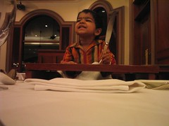 Where is my food? At the Oberoi
